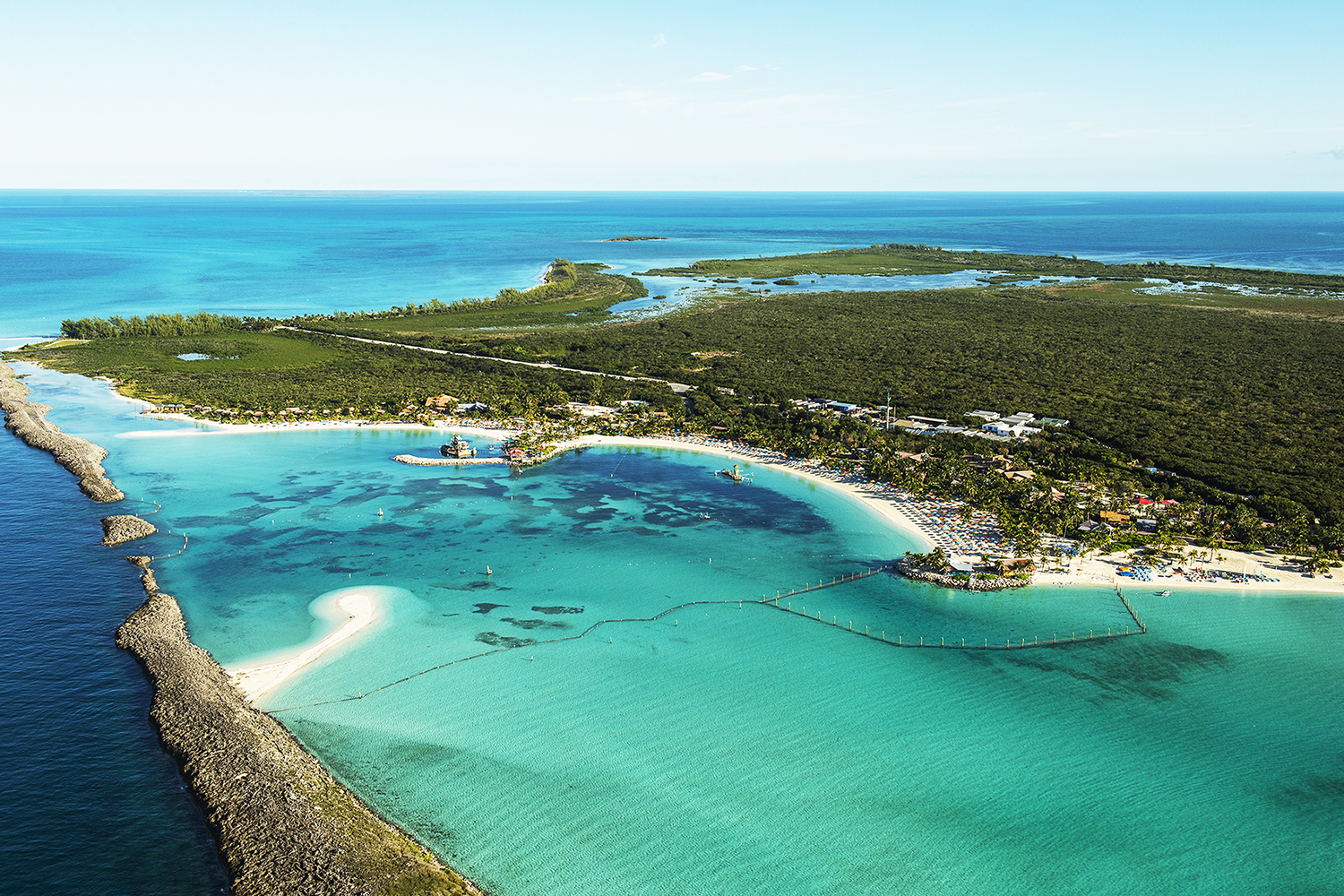 Disney Castaway Cay, located in the Abaco chain of The Bahamas